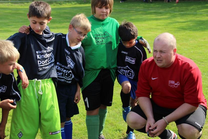 Der Soccercourt als aktuelles Spendenprojekt