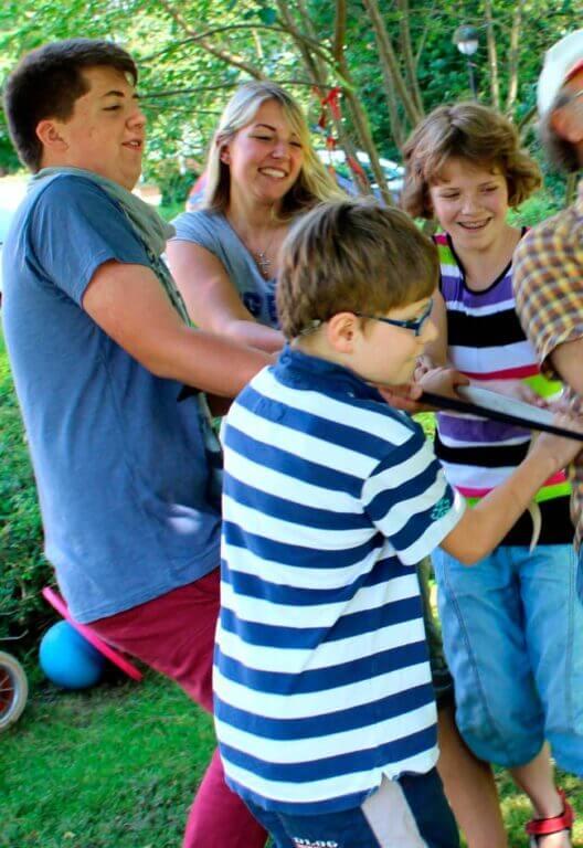 Pädagogische Angebote im Kinderdorf