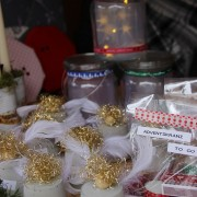 Die ersten Weihnachtsgeschenke konnten auf dem Martinsmarkt schon erbeutet werden.
