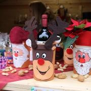 Die Kinderdorfmütter und Pädagogen haben besonders schöne Bastelideen rund um die Weihnachtszeit.