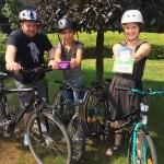 Gemeinsam mit 13 Kindern und fünf Betreuern wurde auf den Spuren Luthers mit dem Fahrrad gepilgert