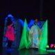 Schwarzlicht-Theater Aufführung in Eltville