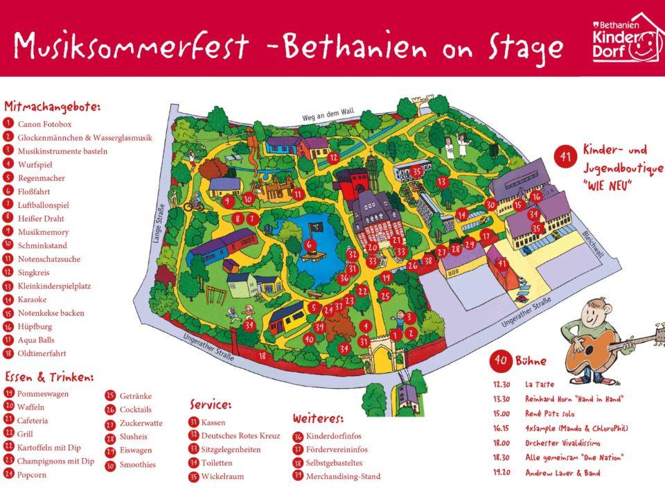 Bethanien on Stage - Kindermusiksommerfest im Kinderdorf