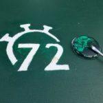 72-Stunden-Logo auf der Torwand
