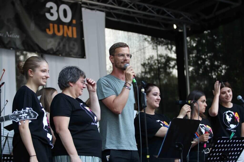 Bethanien on Stage - Joko Winterscheidt ist dabei