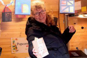 Popcorn beim Martinsmarkt