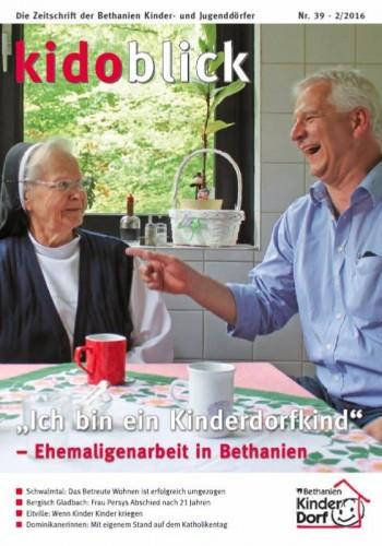 Der Kidoblick ist das Magazin der BEthanien Kinder- und Jugenddörfer und erscheint drei Mal im Jahr.