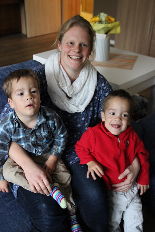 Nach dreijähriger Ausbildung wird Katharina Kalla neue Kinderdorfmutter im Bethanien Kinderdorf in Schwalmtal