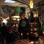 In jedem Jahr verwandelt sich die Freizeitwerkstatt auf dem Kinderdorfgelände zu einer Kerzenziehstube