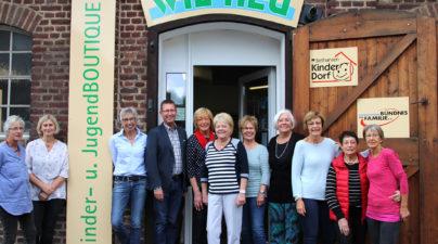 Vor fünf Jahren wurde die Secondhandboutique im Kinderdorf gegründet